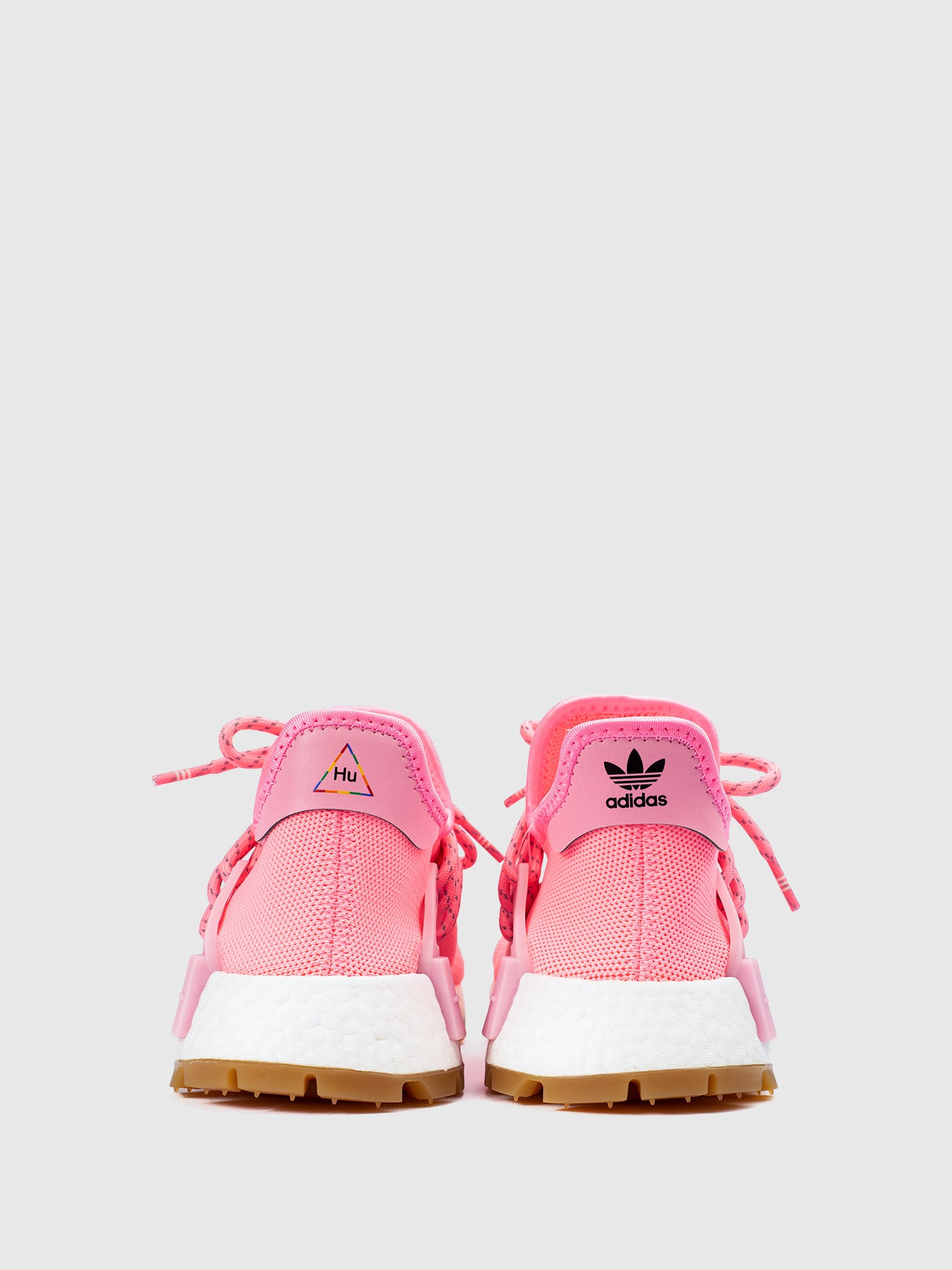 Adidas NMD Hu Trail Pharrell Now Is Her Time Light Pink