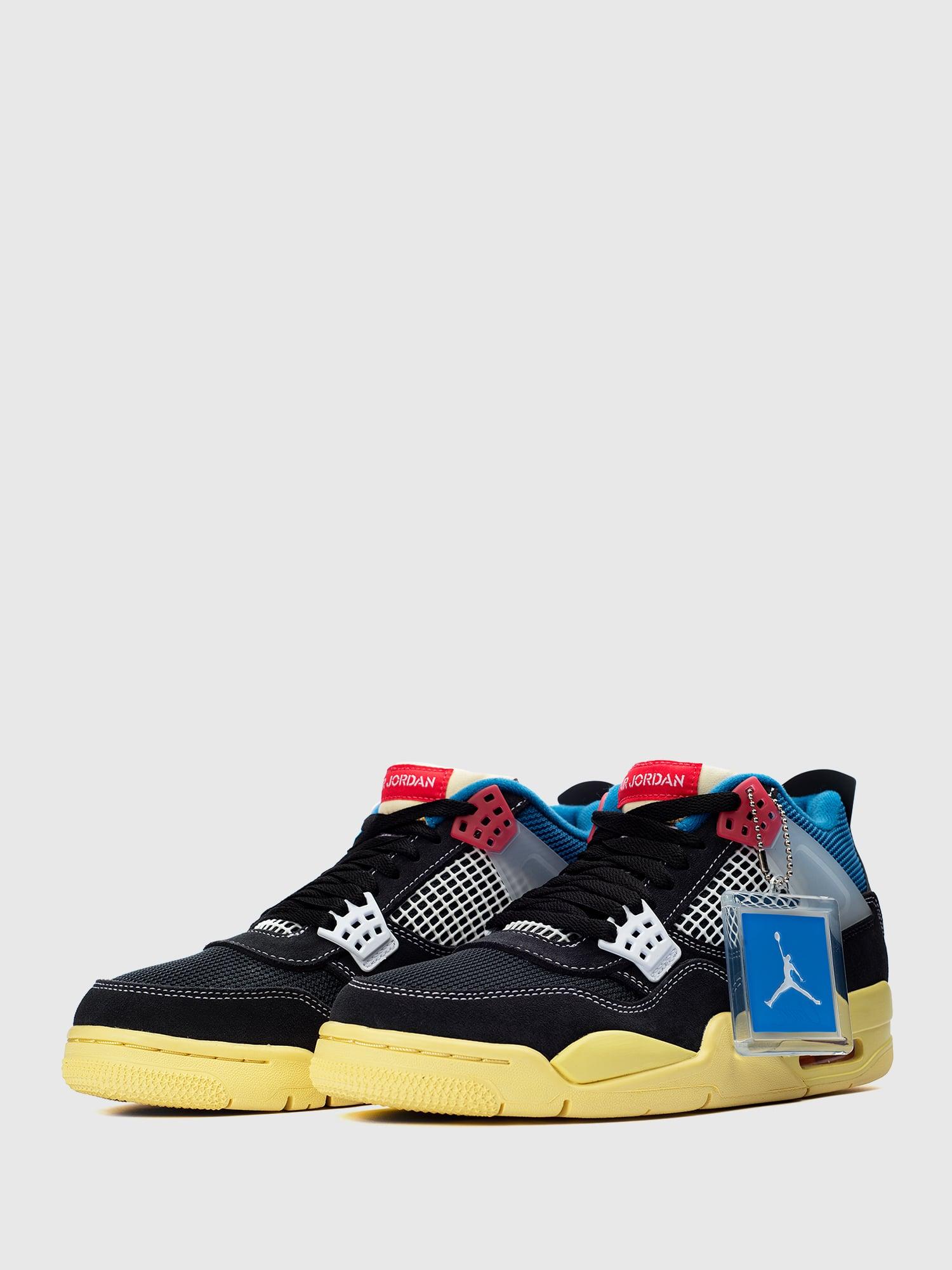 Union LA x Air Jordan 4 Retro 'Off Noir'