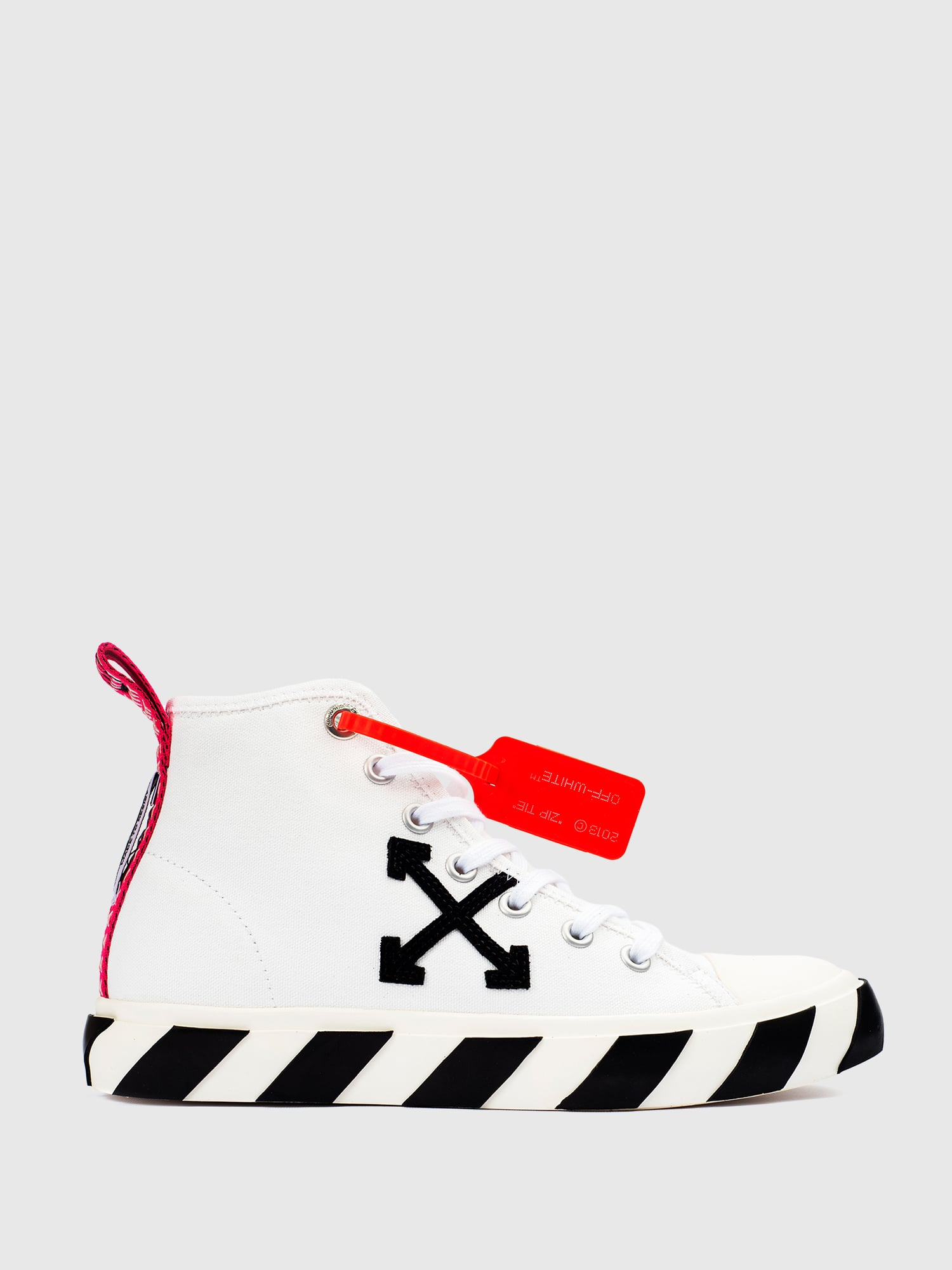 Off-White Vulc Sneaker Mid 'White Black'